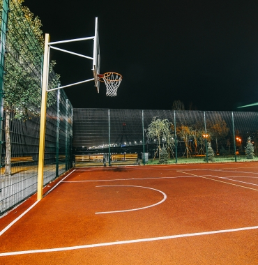 Lighting for indoor and outdoor sports facilities